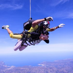 Hayley's Skydive