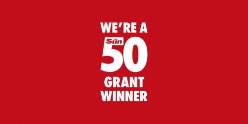 Sun 50 Grant Winner